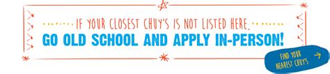 Apply In Person How To Home Office Chuy S Tex Mex