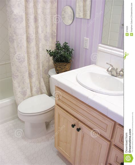 lavendar bathroom lavender bathroom royalty free stock image image 676626