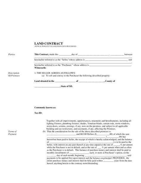 house buying contract sle buying a house on land contract 28 images purchase agreement template free