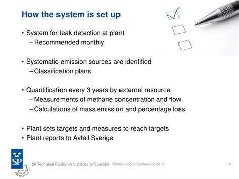 methane emissions  biogas plants  swedish