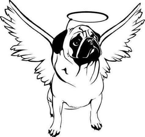 free coloring pages of pug book