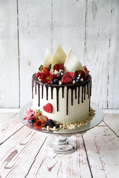 Chocolate Drip Cake   CakeCentral.com