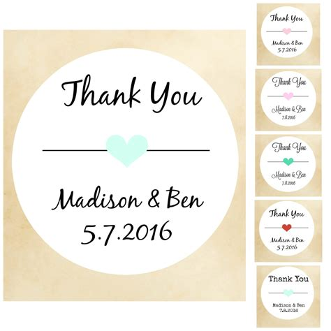 printable stickers for wedding thanks you stickers wedding stickers wedding labels