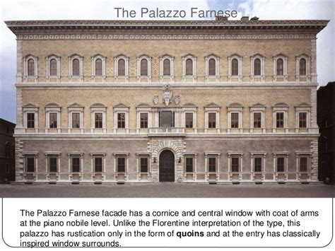 Type Of Cornice Renaissance Architecture In Italy