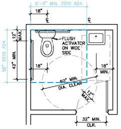 ada restroom floor plans single accomodation toilet california ada compliance