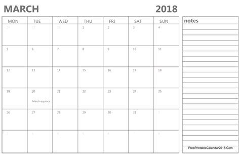 editable calendar template march 2018 march 2018 calendar templates