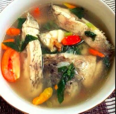 resep  kepala ikan gurame original resep