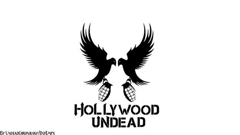 hollywood undead logo wallpaper wallpapersafari
