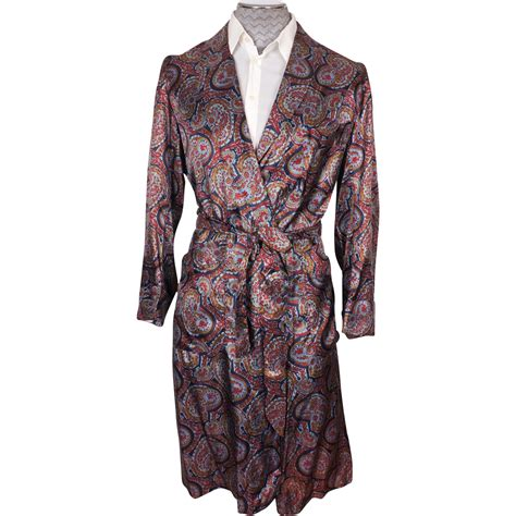pattern for kimono dressing gown vintage mens dressing gown by caulfeild paisley pattern