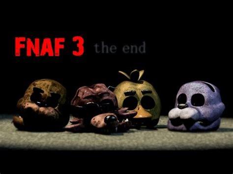 imagenes extrañas de fnaf 3 gu 237 a good ending en fnaf 3 todos los minijuegos paso a