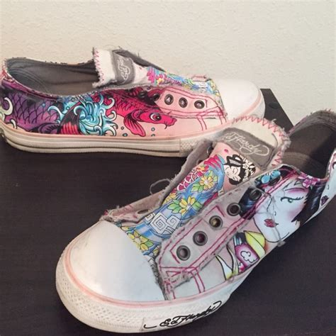 73 ed hardy shoes ed hardy slip on shoes from
