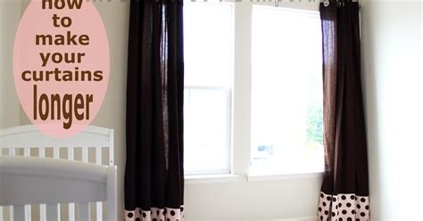 curtains longer than window the creative imperative how to make your curtains longer