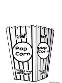 popcorn pictures color free coloring pages art