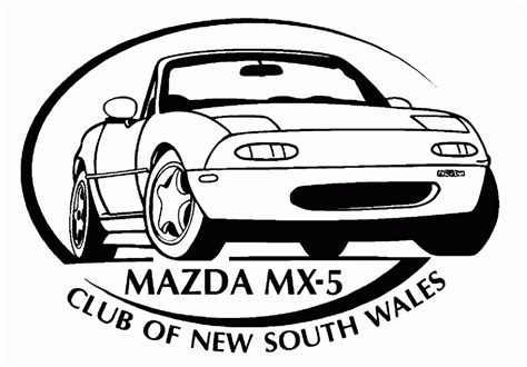 mazda mx5 logo logo mx 5 of nsw