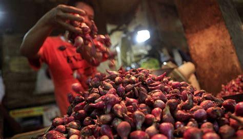 Harga Bibit Bawang Merah Brebes 2017 pemerintah tugasi bulog pasok bawang merah