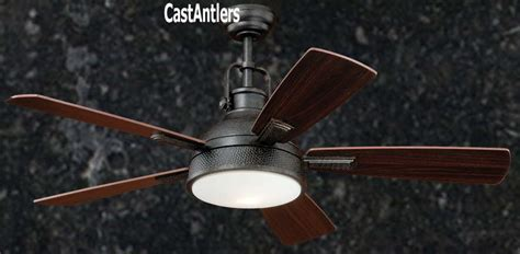 bronze ceiling fan with light and remote standard size fans 52 quot rustic loft bronze industrial