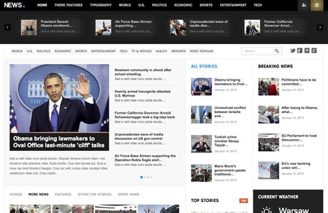 newspaper theme responsive gavickpro releases high quality responsive wordpress themes