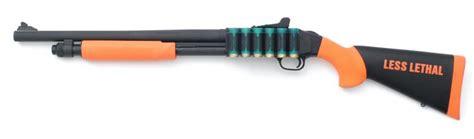 bean bag shotgun aimpro mossberg 590a1 less than lethal defense