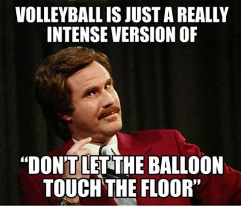 Extremely Funny Memes - you ever play volleyball