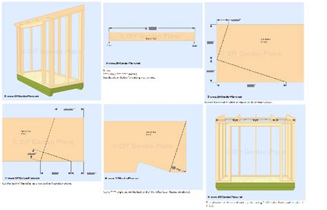 small  lean  shed plans  storage  garden