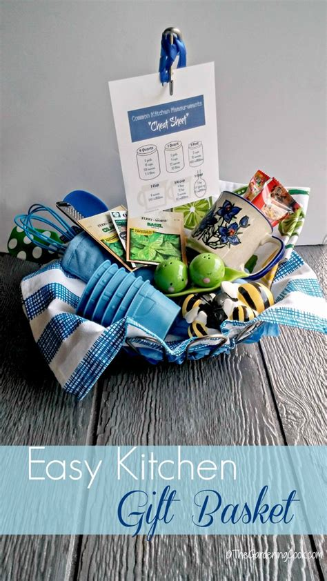 easy bridal shower gift ideas kitchen gift basket 10 tips a free printable