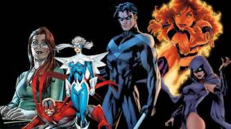 Teen titans tv series team lineup confirmed headlines