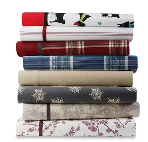 Cannon Flannel Sheet Set Home Bed Bath Bedding Bed Flannel Sheets