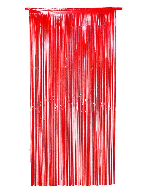 foil door curtain red foil door curtain