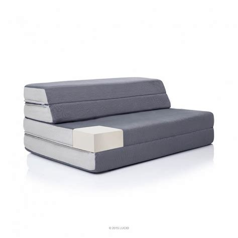 Foam Folding Bed New 4 Inch Folding Foam Mattress Doubles As A Sleeper And A Chair Size Ebay