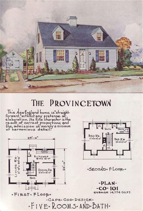 vintage cape cod house plans house design plans