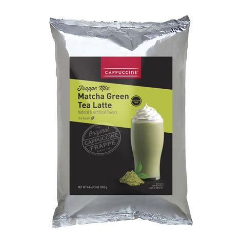 cappuccine matcha green tea latte 3 lb bag s baristaproshop