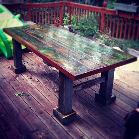 Dining Table Barn Door Barn Door Table Dining Tables Atlanta By Woodology