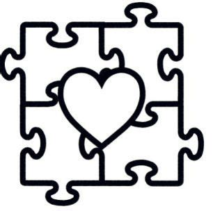 autism awareness puzzle piece coloring page coloring pages