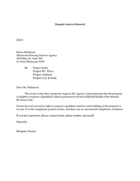 Business Letter Of Interest how to write a letter of interest for a jobwritings and