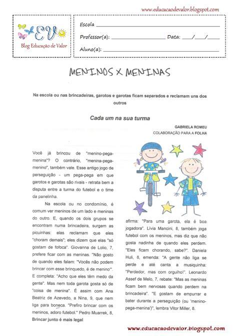 imagenes entre texto html blog educa 231 227 o de valor diferen 231 as entre meninos e meninas