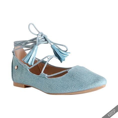 lace up flats shoes womens lace up pointed ballerina shoes ankle wrap ballet