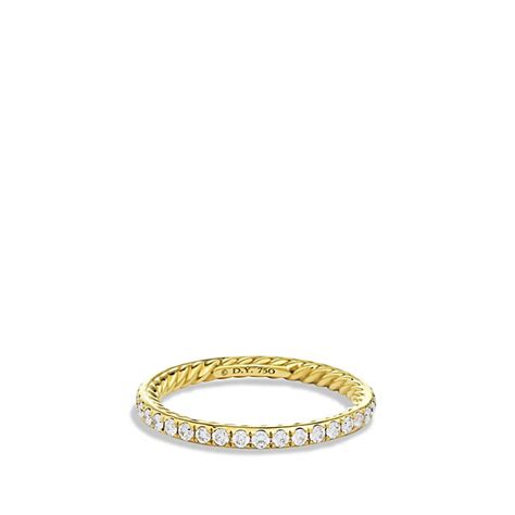 david yurman wedding band mens david yurman cable wedding band in gold with diamonds in