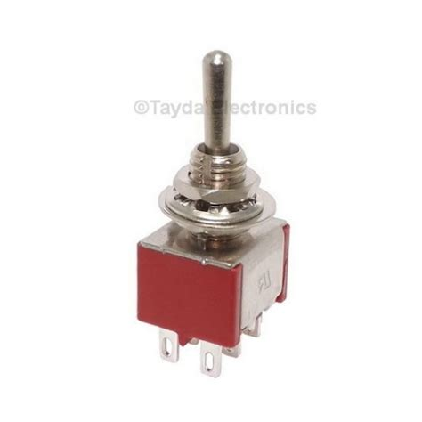 momentary toggle switch mini toggle momentary switch dpdt on on