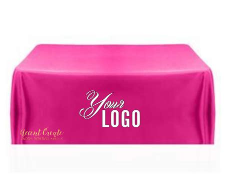 custom table cloth 6ft custom tablecloth personalized table cloth direct