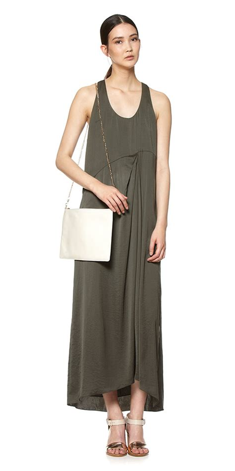 Maxi Dress Bordier Lulu whistles lulu gathered detail maxi dress in lyst