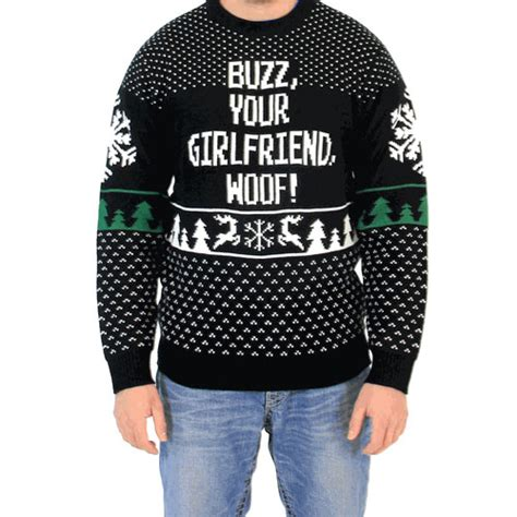 buzz your woof sweater