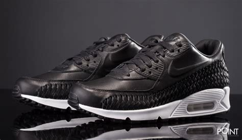 Nike Airmax 90 Woven Black White shop nike air max 90 woven black white at the sneakers shop thepoint es