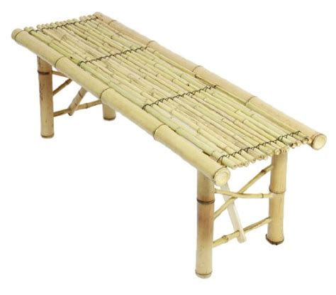 bamboo bench bar prosource tiki bamboo bench tropical coffee table for