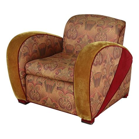 deco style club chairs deco style jazz club chair at 1stdibs