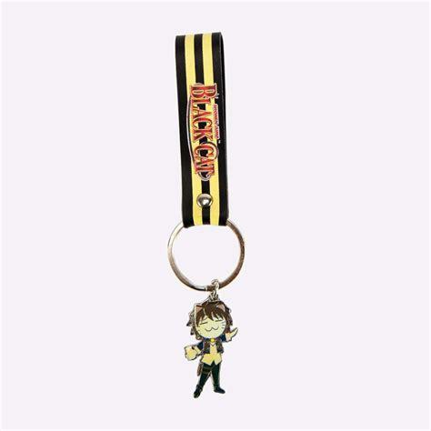 Tendencies Accessories Black Servizio Keychain black cat metal leather keychain accessories