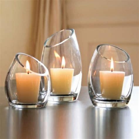 Kerzenhalter Aus Glas Für Kerzenleuchter by Le Bougeoir En Verre Jolies Tendances De D 233 Coration Avec