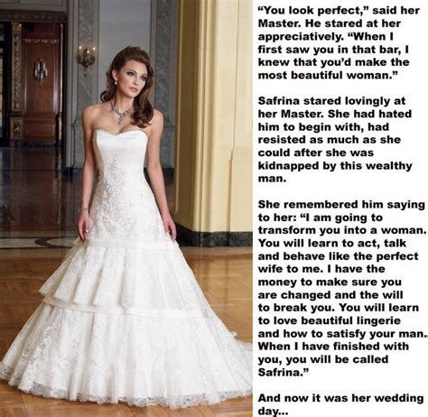 boy becomes bride caption sissie sissy forced feminization pinterest