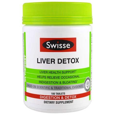 California Gold Detox by Swisse Ultiboost Liver Detox Digestion Detox 180