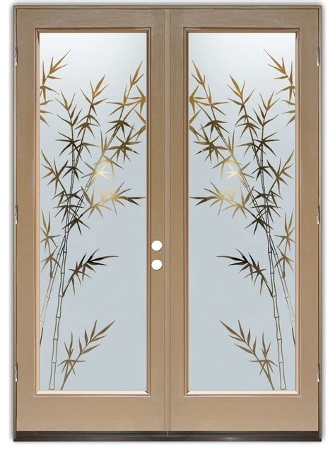 Glass Design Doors Glass Front Doors Glass Entry Doors Bamboo Forest Negative Asian Front Doors Other
