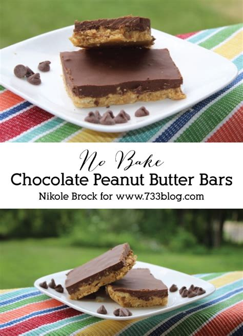 Peanut Butter Bars With Chocolate On Top by Chocolate Peanut Butter Bars Inspiration Made Simple